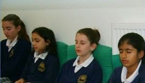 Children enjoy Transcendental Meditation